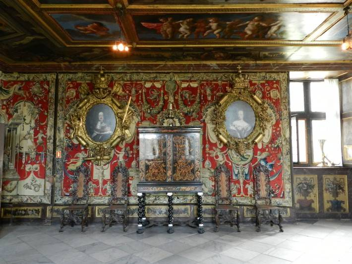 Декор в замке Розенборг — фото 11