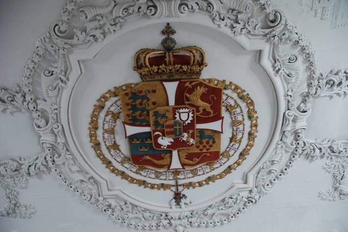 Декор в замке Розенборг — фото 12