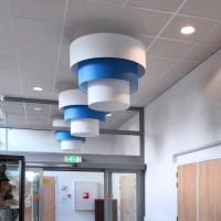 Подвесной потолок в кафе Nieuwerbrug — фото 3