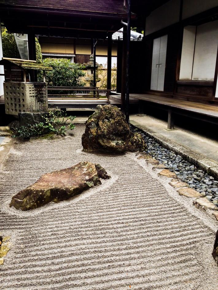 Сад храма Гинкаку-дзи — фото 1
