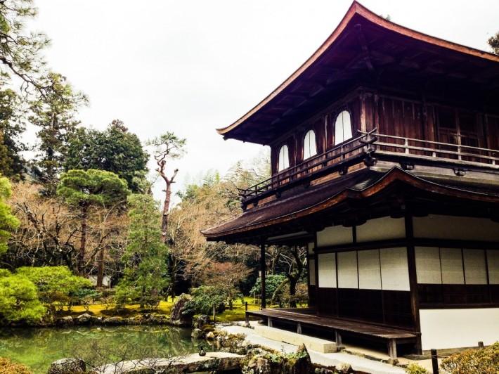Сад храма Гинкаку-дзи — фото 6