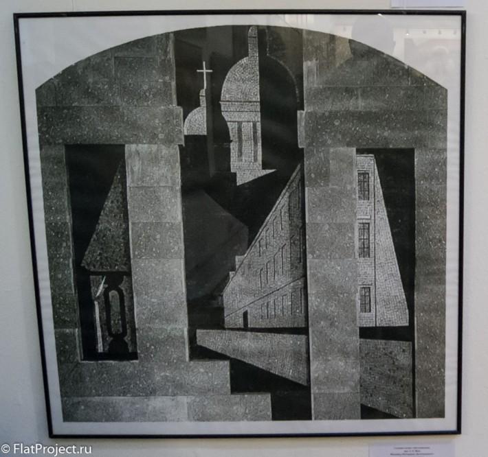 Выставка монументального искусства и ДПИ в СПб СХ — фото 10