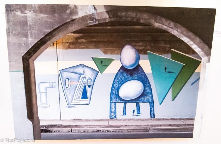 Выставка монументального искусства и ДПИ в СПб СХ — фото 43