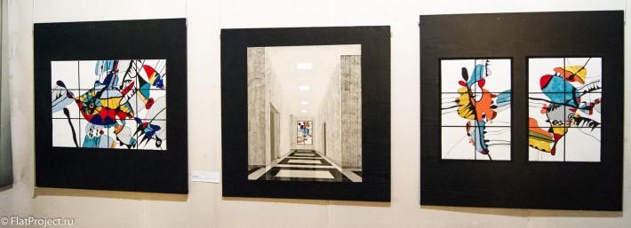Выставка монументального искусства и ДПИ в СПб СХ — фото 31