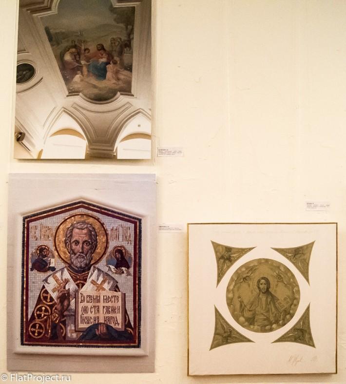 Выставка монументального искусства и ДПИ в СПб СХ — фото 53
