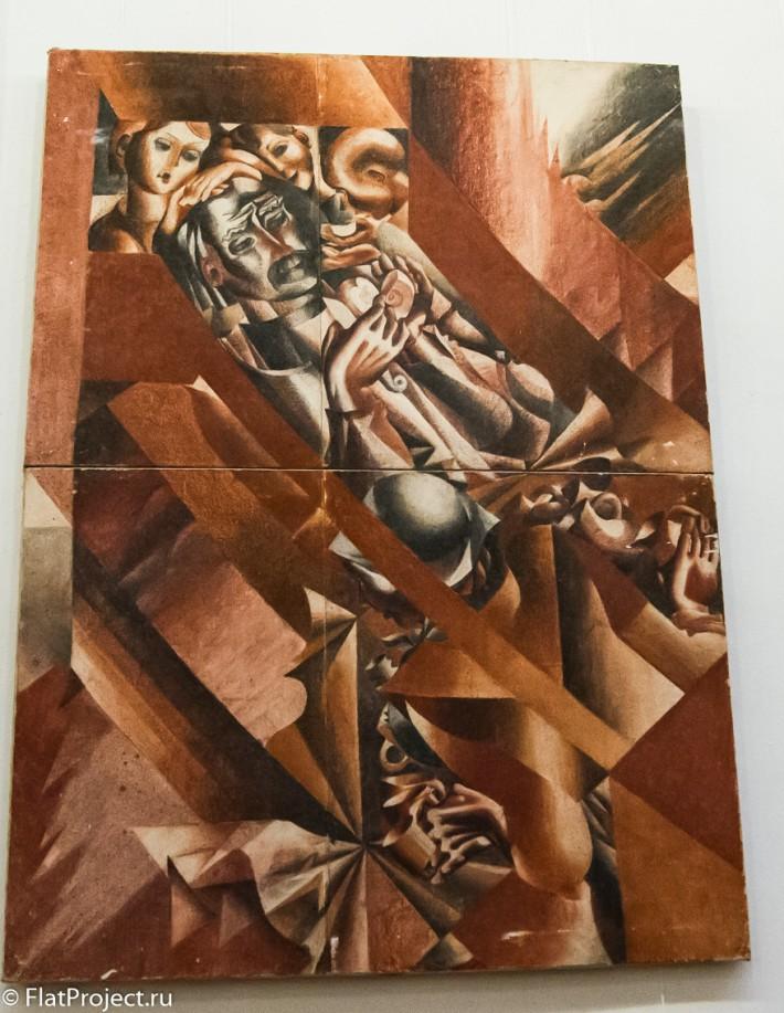 Выставка монументального искусства и ДПИ в СПб СХ — фото 4