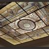 Виражный потолок — Техника Тиффани