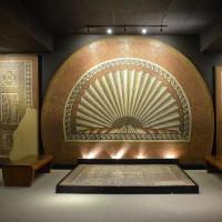 Мозаичный полы в музее Веруламий