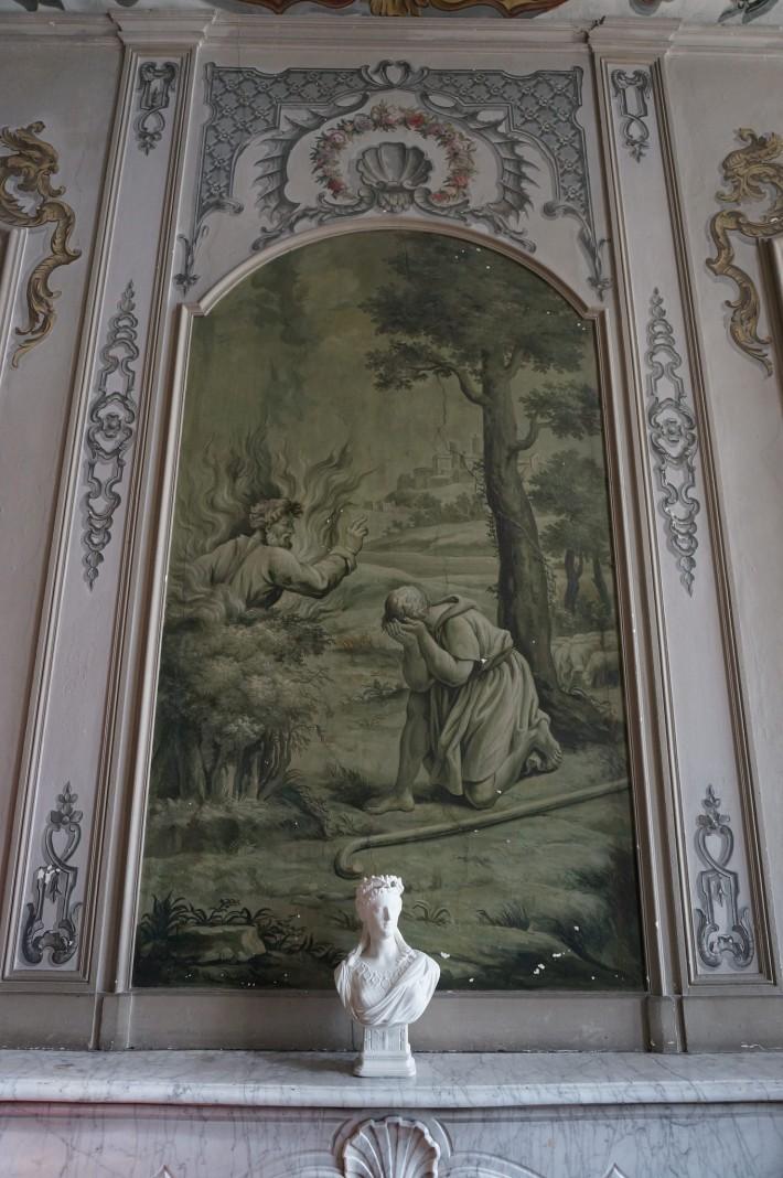 Роспись бывшего Епископского дворца в Вивье — фото 1