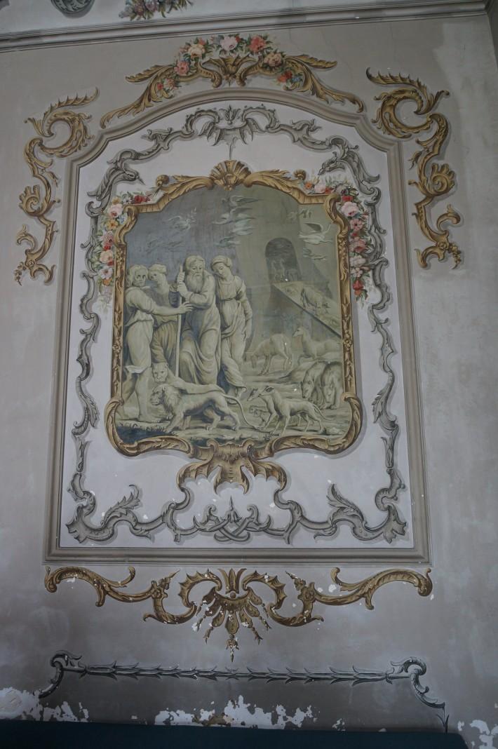 Роспись бывшего Епископского дворца в Вивье — фото 8