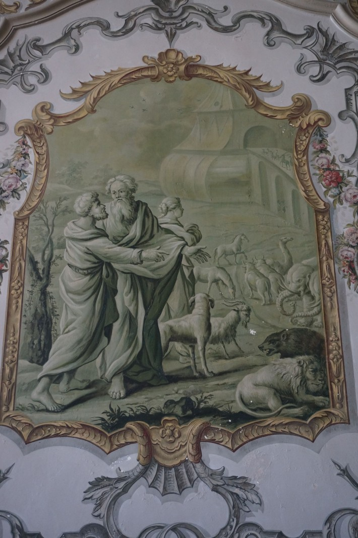 Роспись бывшего Епископского дворца в Вивье — фото 12
