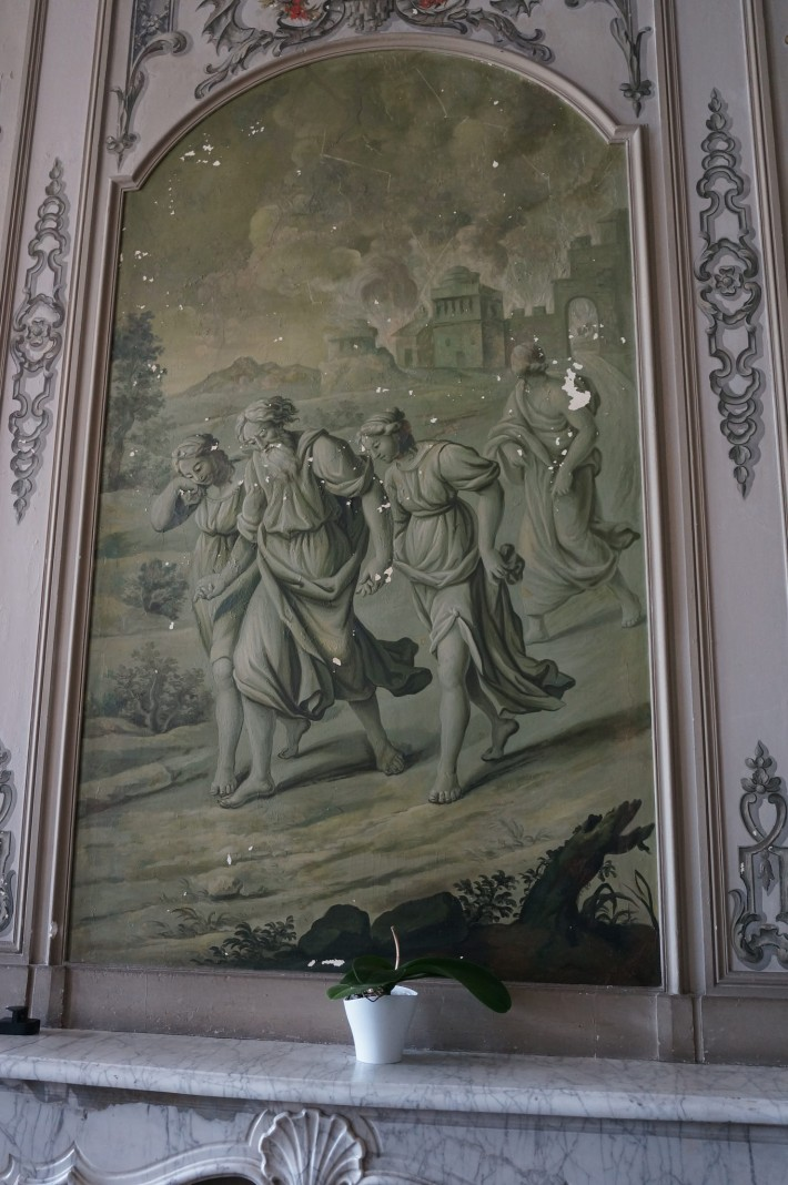 Роспись бывшего Епископского дворца в Вивье — фото 4