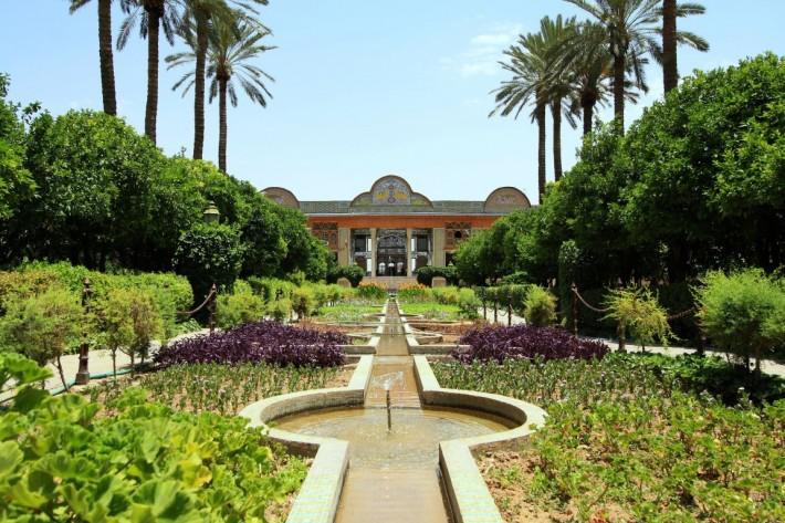 Сады Эрам в Ширазе — фото 2