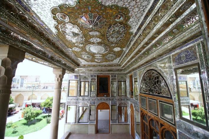 Интерьеры дома Наранджестан Кавам в Ширазе — фото 7