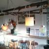 Декор потолка ресторана Turquoise Eatery