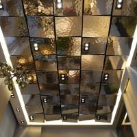 Потолок из металлических панелей EXYD — фото 1