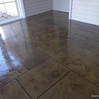 Рисунок на бетонном полу от DC Kingdom — фото 1