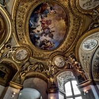 Фото росписи потолка в Лувре — фото 3