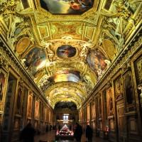 Фото росписи потолка в Лувре — фото 2