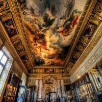 Фото росписи потолка в Лувре