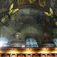 Фото росписи потолка в Лувре — фото 25