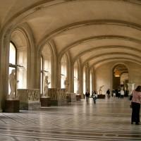 Фото отделки потолка в Лувре — фото 29