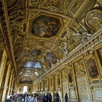 Фото отделки потолка в Лувре — фото 30