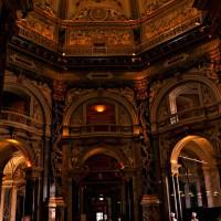 Потолок кафе du Grand Louvre