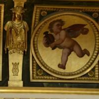 Фото росписи потолка в Лувре — фото 13