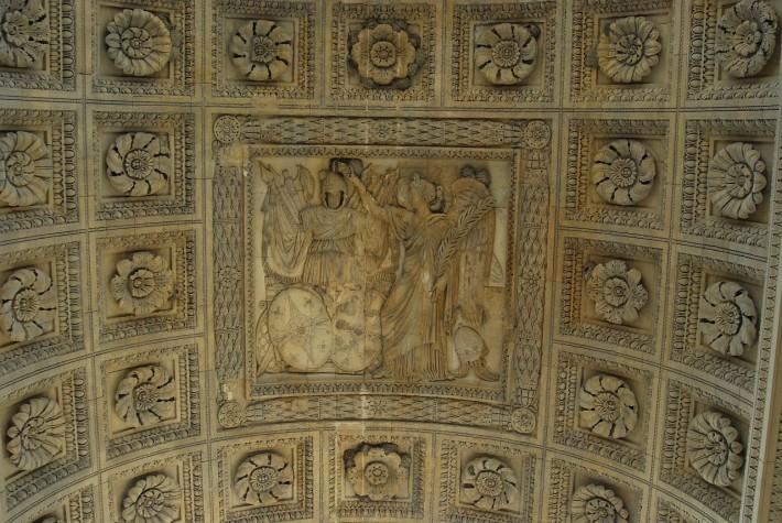 Фото отделки потолка в Лувре — фото 35