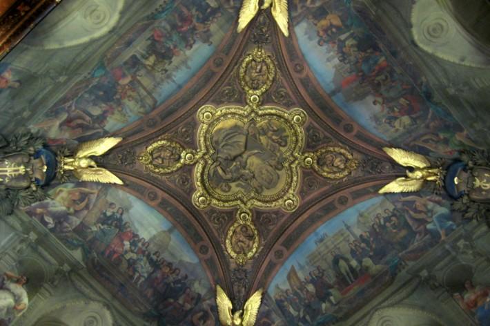 Фото росписи потолка в Лувре — фото 27