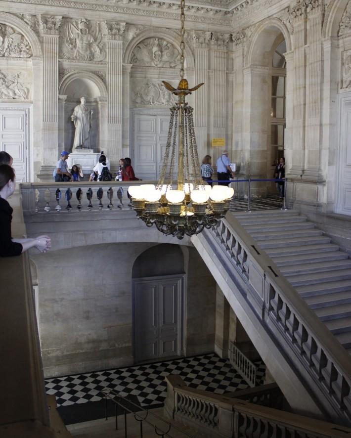 Потолки и декор Версальского дворца — фото 45