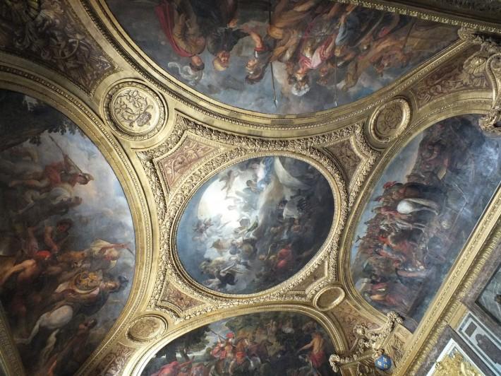 Потолки и декор Версальского дворца — фото 33