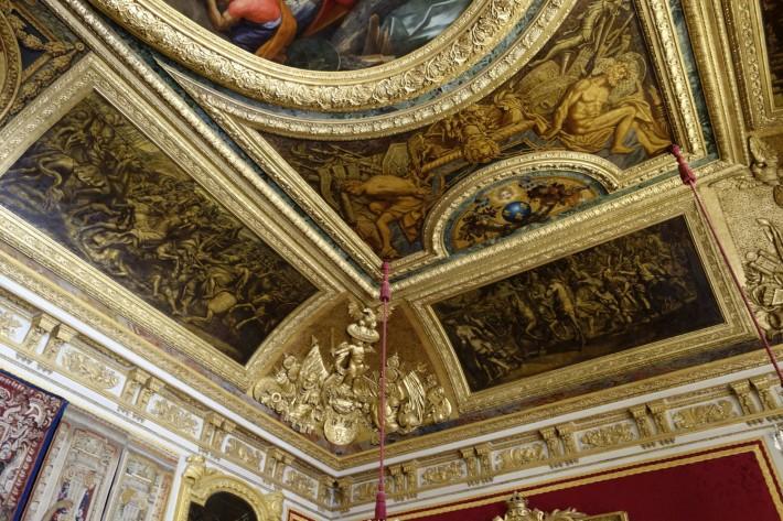 Потолки и декор Версальского дворца — фото 16