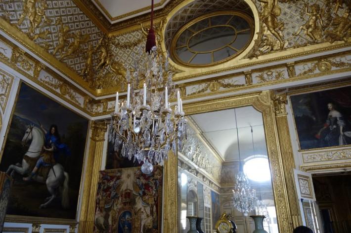 Потолки и декор Версальского дворца — фото 9