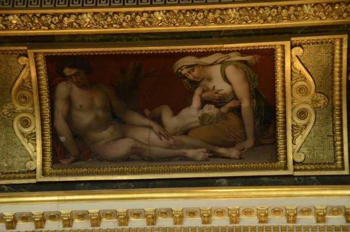 Фото росписи потолка в Лувре — фото 21