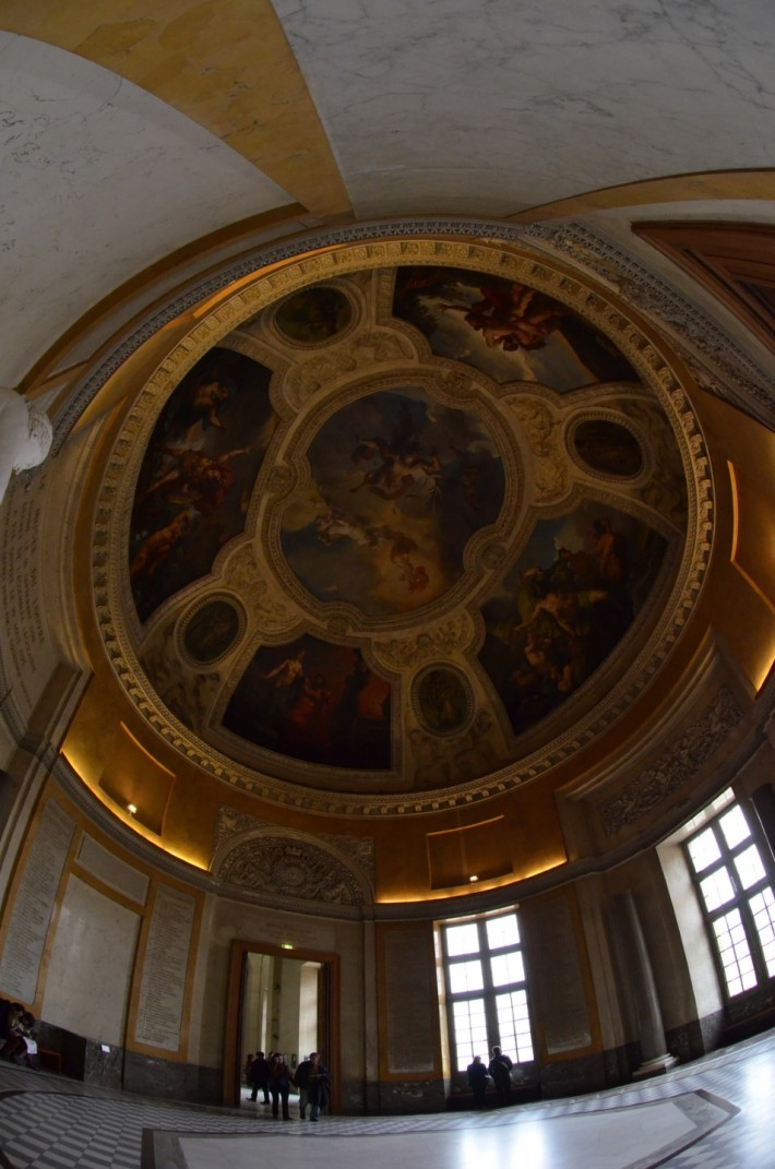 Фото росписи потолка в Лувре — фото 18