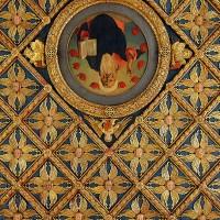 Декор потолка в Галереи Академии