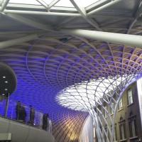Потолок вокзала Кингс-Кросс