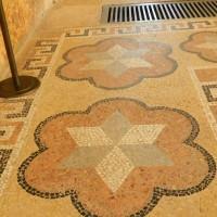 Мозаичный пол в Спасо-Евфимиевом монастыре — фото 2