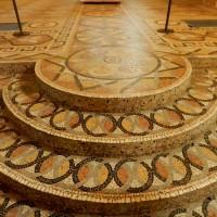 Мозаичный пол в Спасо-Евфимиевом монастыре