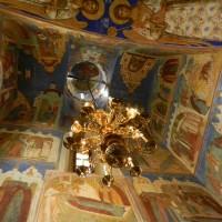 Роспись потолка в Спасо-Евфимиевом монастыре