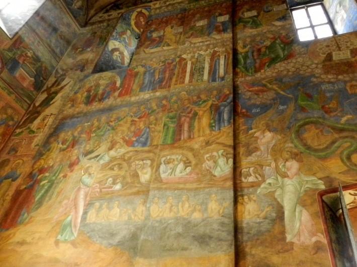 Роспись потолка в Троице-Сергиева лавре — фото 1