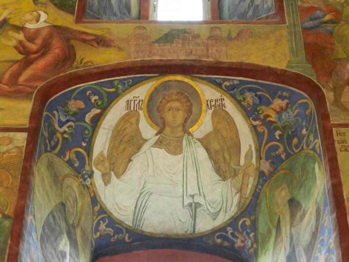 Роспись потолка в Троице-Сергиева лавре — фото 3
