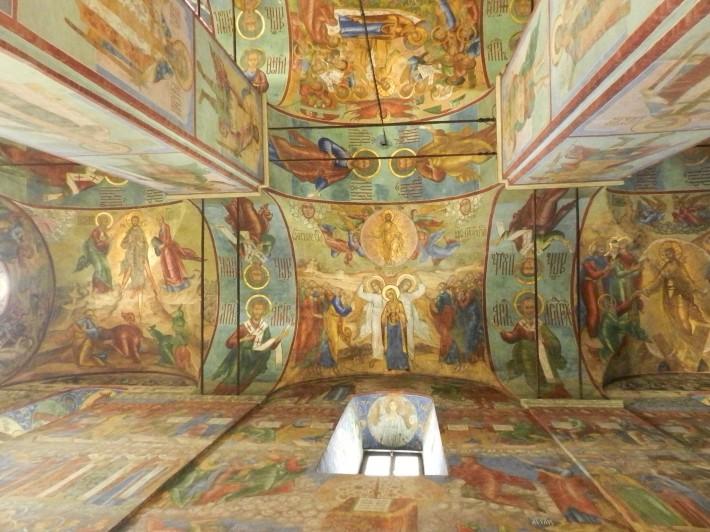 Роспись потолка в Троице-Сергиева лавре — фото 5