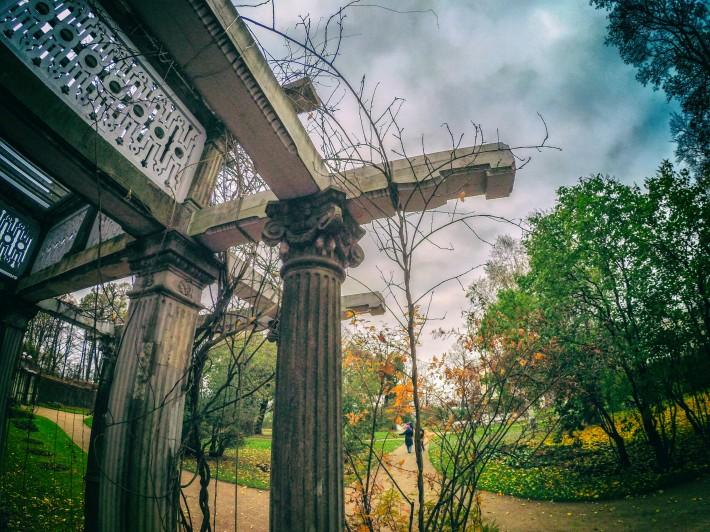 Собственный садик Екатерининского парка — пергола — фото 2