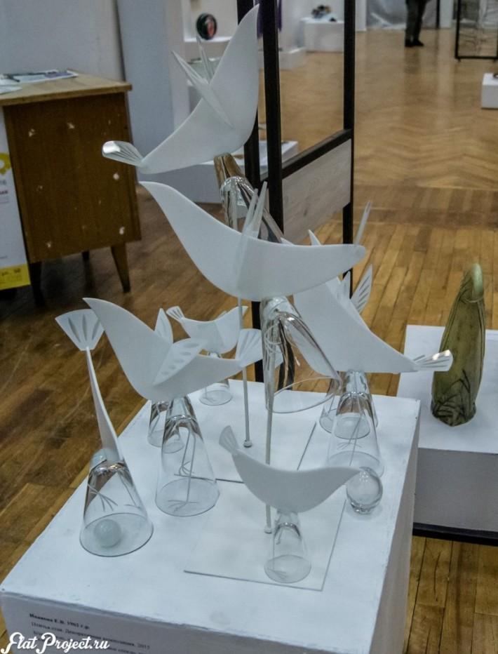 Керамика и стекло на Осенней выставке 2016 — фото 5