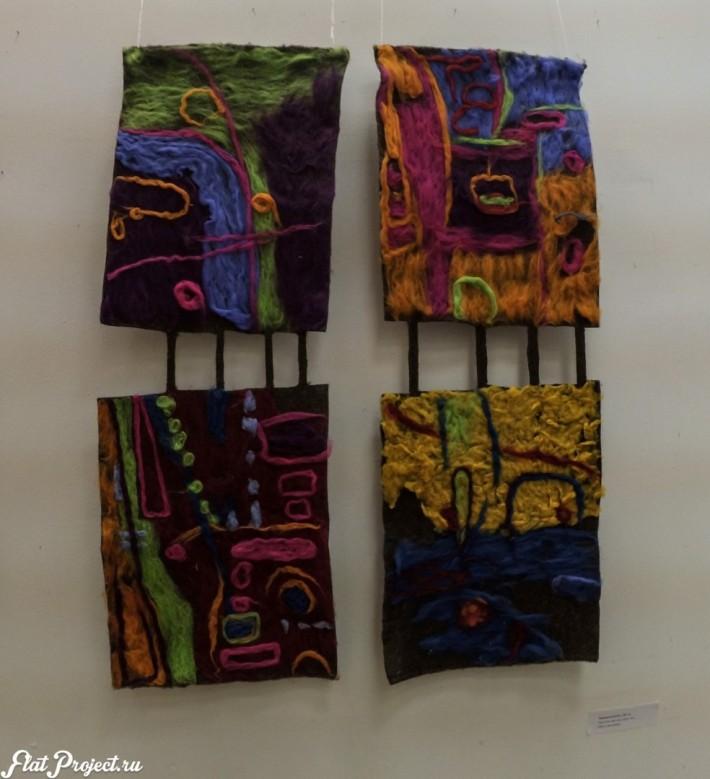 Ткани и гобелены на Осенней выставке 2016 — фото 4