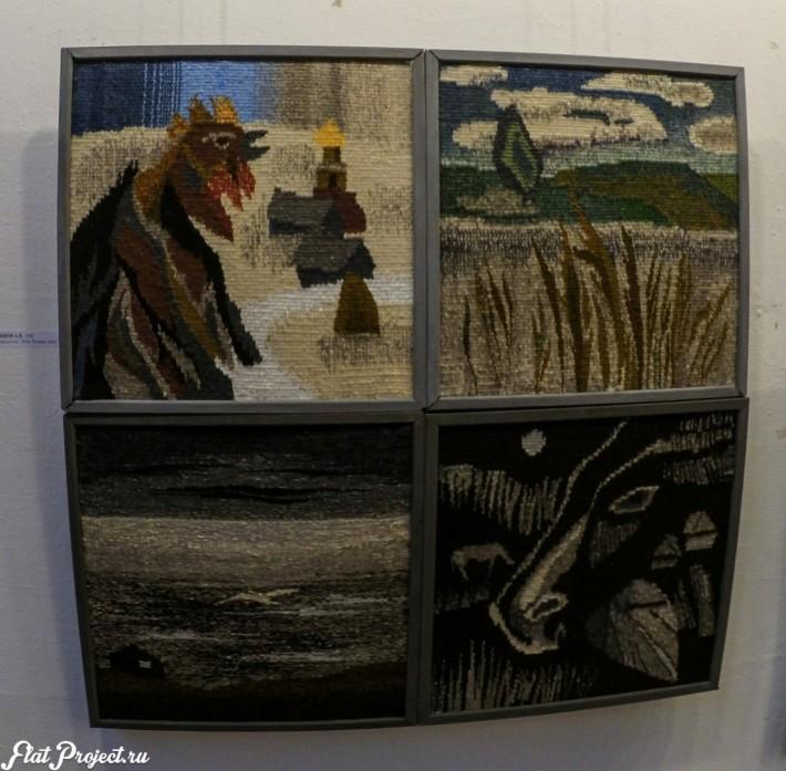 Ткани и гобелены на Осенней выставке 2016 — фото 13