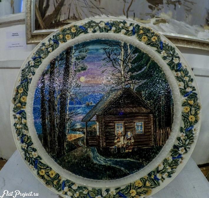 Керамика и стекло на Осенней выставке 2016 — фото 61